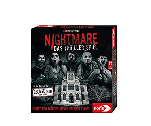 Noris 606101896 - Nightmare - Das Thriller Spiel mit dem speziellen Nervenkitzel für alle Adrenalin-Junkies, ab 16 Jahren