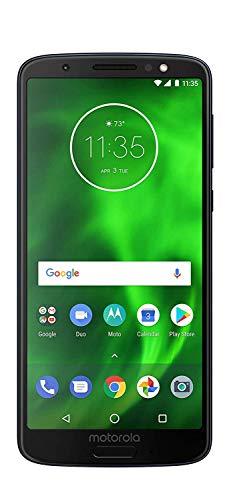 Motorola G6 MOTXT192512-32GB - Black (Verizon) Smartphone (Renewed)