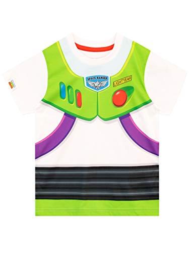 Disney Camiseta de Manga Corta para niños Toy Story Buzz Lightyear Blanco 12-18 Meses