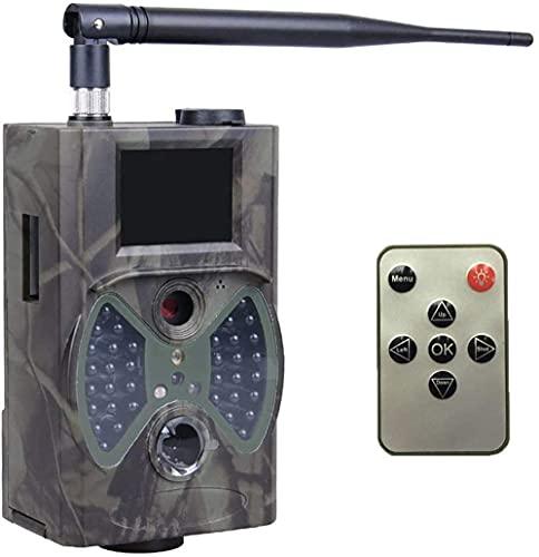 NXL 2G Wildkamera Fotofalle 12MP 1080P mit Handy übertragung, IP54 wasserdichte Jagdkamera mit bewegungsmelder Low-Glow 940nm Infrarot-LEDs, Infrarot-Nachtsicht 20m mit SD-Karte