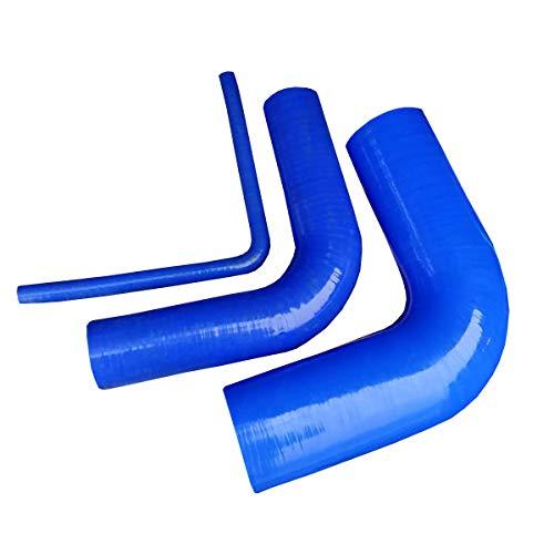 Silikonbogen 90° ID 6-75mm Turboschlauch Silikonschlauch Kühlerschlauch LKW PKW (25mm)