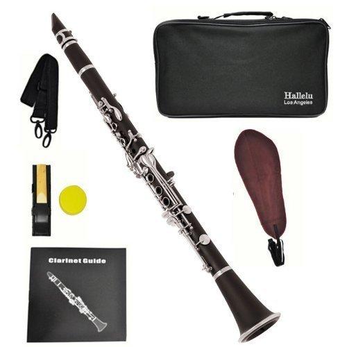 Hallelu HCL- 200 Clarinet W/case Nickel Plated...