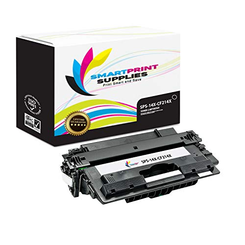 Smart Print Supplies Compatible 14X CF214X Black High Yield Toner Cartridge Replacement for HP Laserjet Enterprise 700 M712 M725 Printers (17,500 Pages)