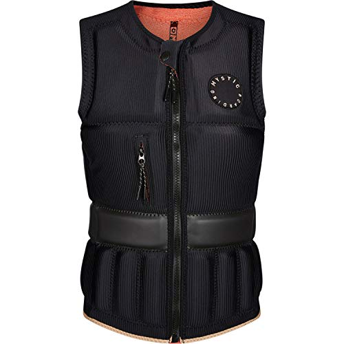 Mystic Womens GEM FZip Wakeboard Impact Vest 2021 - Black 210159 S