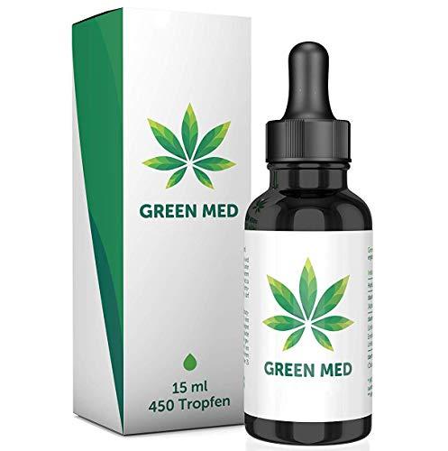 GREEN MED | 15 ml - 450 Tropfen | Premium | Made in Germany - Vegan & Natürlich