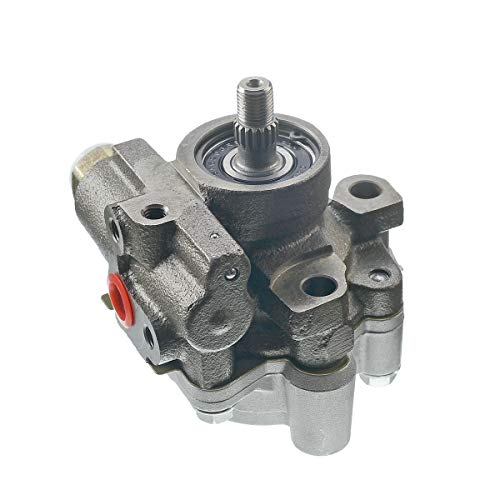 A-Premium Power Steering Pump Replacement for Toyota Corolla Chevrolet Prizm 1998-2000 I4 1.8L