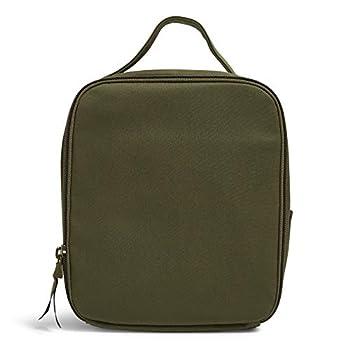 Vera Bradley Bunch Lunch Bag Climbing Ivy Green-Recycled Cotton