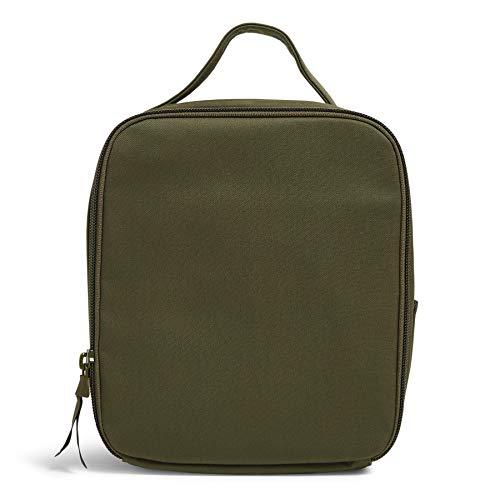 Vera Bradley Bunch Lunch Bag, Climbing Ivy Green-Recycled Cotton