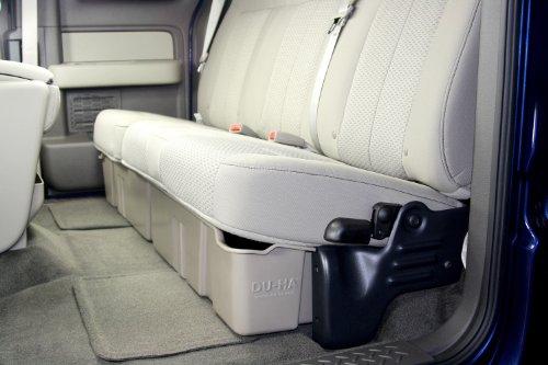 DU-HA Under Seat Storage Fits 09-14 Ford F-150 Supercab, Black, Part #20071