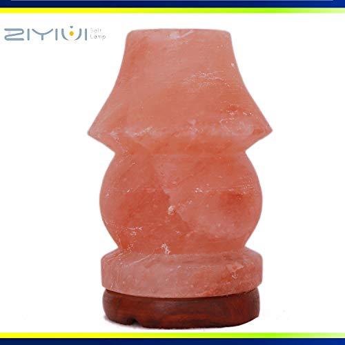 ZIYIUI 100% Qualität original natürlichen Kristallsalz Lampe Pakistan Steinsalz Lampe Tischlampe Typ Salz Lampe EU Stecker Typ geeignet für warme Atmosphäre