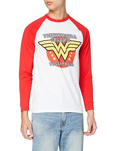 I-D-C CID Wonder Woman Camiseta, Hombre, Multicolor, Small