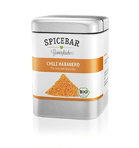 Spicebar Bio Habanero Chili, gemahlen (1 x 50g)