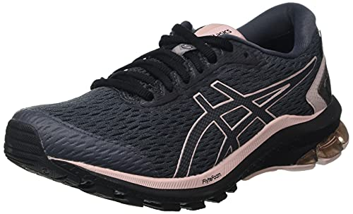 Asics GT-1000 9 G-TX, Road Running Shoe Mujer, Carrier Grey/Ginger Peach, 38 EU