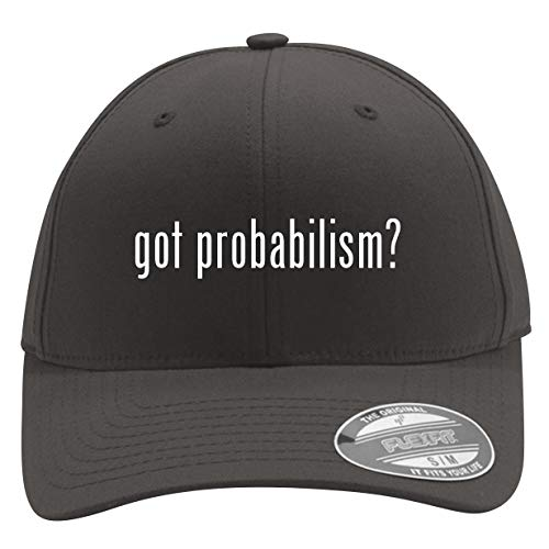 got Probabilism? - Men's Flexfit Baseball Cap Hat, Dark Grey, Small/Medium