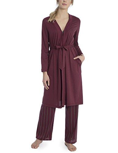 CALIDA Damen Favourites Trend 2 Kimono, Rot (Spicy 207), XX-Small