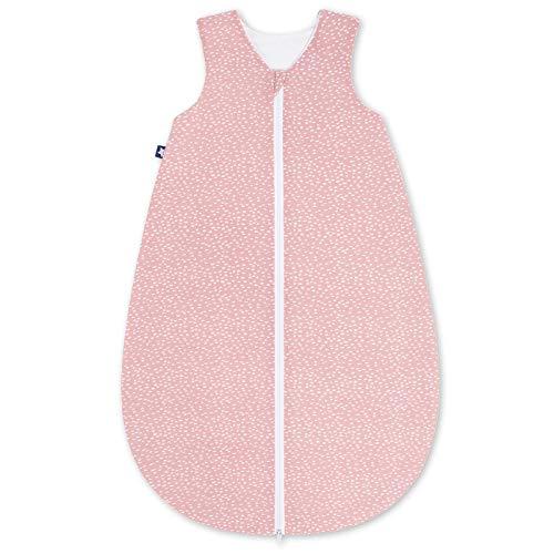 Julius Zöllner Jersey Sommerschlafsack 56 cm Tiny Squares Blush