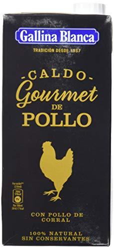 Gallina Blanca Gourmet Caldo de Pollo, 100% Natural, 1L