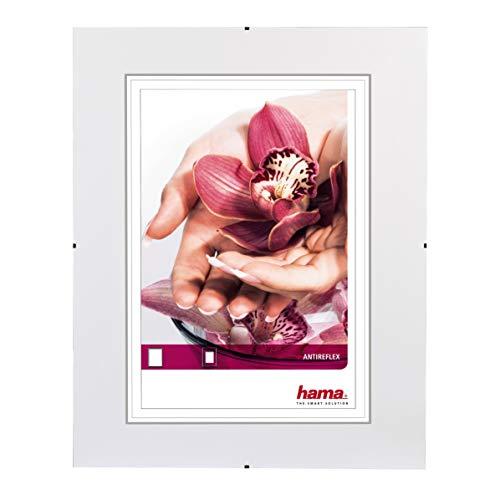 Hama Uchwyt na zdjęcia bez ramek Clip-Fix, szkło antyrefleksyjne, 20 x 30 cm