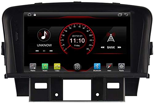 Laytte Coche GPS Player Reproductor De DVD Head para Chevrolet Cruze J300 Sedan 2009-2015 Control De Volantes Android NAVI Radio Multimedia WiFi CARPLAY con Cable,4core 4g WiFi:2+32gb