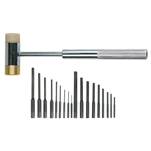 Wheeler 110128 Master Roll Pin Punch Set
