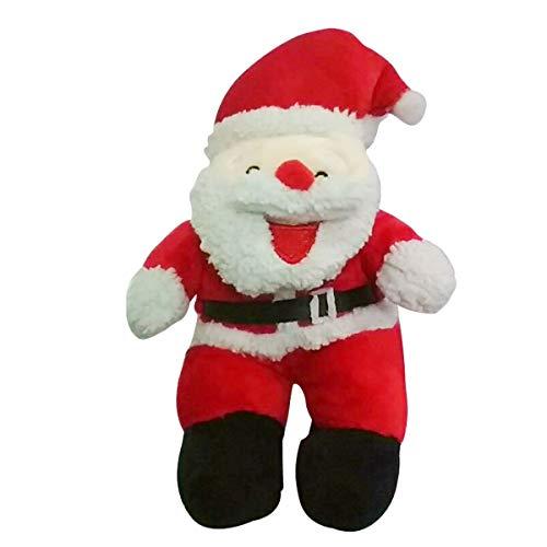 BESTOYARD Weihnachtsmann Figuren Weihnachten Plüschtier Stofftier Spielzeug Geschenk für Kinder 25 cm
