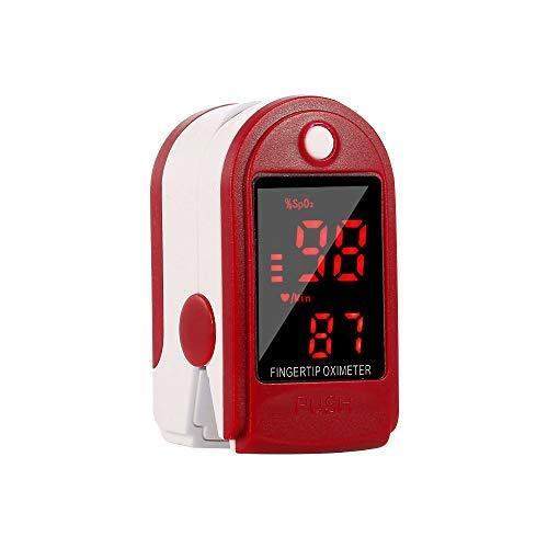 Entweg Pulsoximeter, Fingerspitzen-Pulsoximeter-LED-Digitalanzeige zur Messung der Pulsfrequenz Überwachung der Blutsauerstoffsättigung Station Home Health Care
