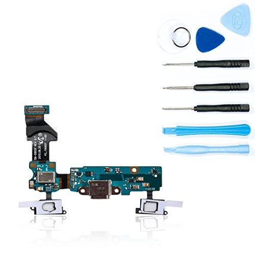 teparto USB Ladebuchse für Samsung Galaxy S5 Neo - SM-G903F mit Werkzeugset