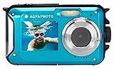 AGFA Photo WP8000 - Fotocamera digitale impermeabile, 24 MP, colore: Blu