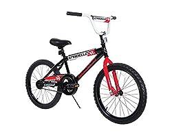 small Dynacraft Magna Throttle Boys BMX Street / Dirt Bike 20inch, Black / Red / White