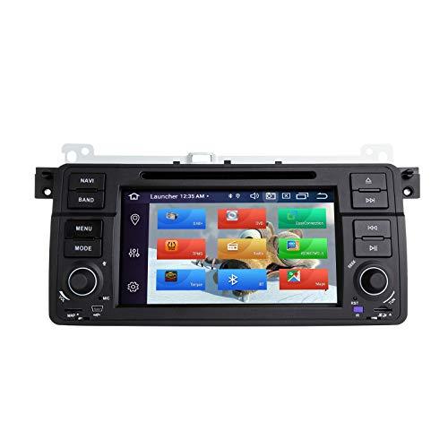 ZLTOOPAI Autoradio Stereo für BMW E46 Rover 75 MG ZT Android 10 Octa Core 4G RAM 64G ROM 17,8 cm IPS-Bildschirm Doppel DIN Armaturenbrett GPS Navigation DVD Player
