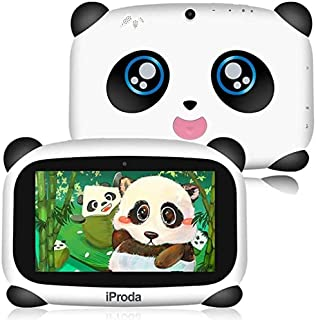 Panda Kids Tablet, 2GB RAM & 16GB ROM, 7 inch HD Display Android 9.0, 4000Amh Panda Toddler Tablet, Parental Controls, Edu...