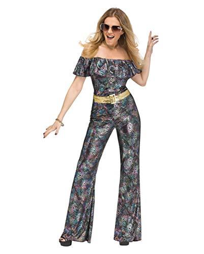 Horror-Shop Disco Queen Kostüm als sexy Hingucker für Mottoparty, Schlagermove & Fasching S/M