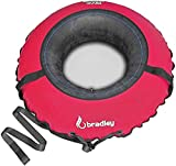 Bradley Snow Tube with 50' Cover | Heavy Duty Inflatable Sledding...