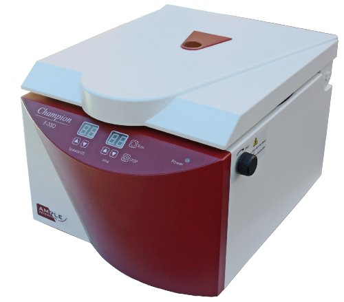 Ample Scientific Champion F-33D 8-Place Fixed Angle Digital Bench-Top Centrifuge, 15mL Capacity,...