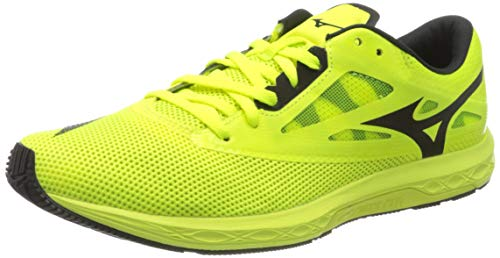 Mizuno Wave Sonic 2, Zapatillas de Running para Hombre, Amarillo Seguridad Amarillo...