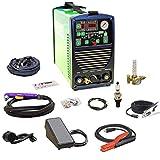 2021 UltraArc 205 200 Amp Multi Process Welder TIG Stick Pulse 50 Amp Plasma Cutter Dual Voltage 110v/220v