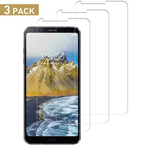 SNUNGPHIR Schutzfolie für LG G6 Panzerglas, [3 stück] [Anti-Kratzer/Anti-Öl][Einfache Installation][Blasenfrei Transparent][3D Touch/9H Härte] LG G6 Panzerglasfolie Displayschutzfolie