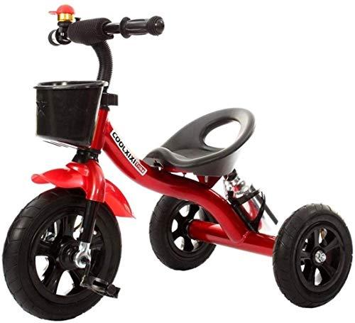 Kinderschommelende paardentrikes Trike driewieler, kinderfiets peuter fiets peuter 2 in 1 Trike driewielers kinderen 1-3-6 jaar opbergdoos
