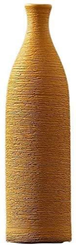 Vazen Keramische Woonkamer Decoratie Nep Bloem Rechte Slaapkamer Bloem Grote Restaurant Plant Hydroponische Bloempot 25 * 7cm Woonaccessoires
