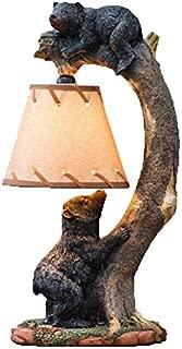 Tree Climbing Bear Cubs Accent Lamp
