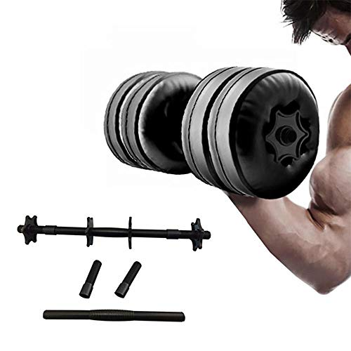 Adjustable Water Filled Dumbbells, Weight Set for Man and Women Up to 5-10kg, Perfect Fitness Gift for Gym, Hiking and Home