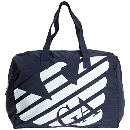 Emporio Armani hombre bolsas de deporte blue