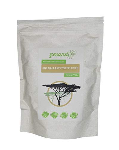 gesundo Ballaststoffpulver Fibregum aus Bio Akazien, Inhalt:0.5kg Beutel