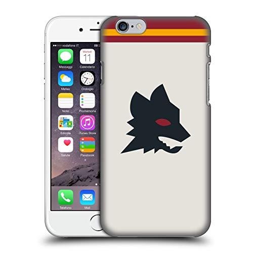 Head Case Designs Licenza Ufficiale AS Roma Fuori Casa 2020/21 Kit Crest Cover Dura per Parte Posteriore Compatibile con Apple iPhone 6 / iPhone 6s