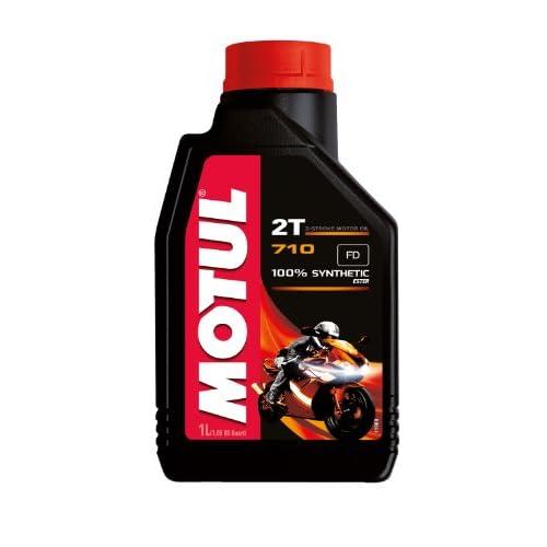 Motul - 104034 - Olio motore 2T 710 - 100% estere sintetico - 1L