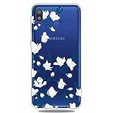 YYhin étui de téléphone pour Coque Samsung Galaxy M20 / SM-M205F TPU Cas, étui Ultra-Fin de...