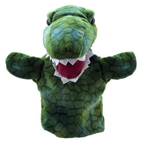 Verde The Puppet Company Grande testa di drago Marionetta da Mano