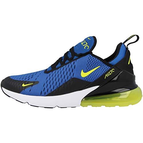 Nike Herren Air Max 270 Fitnessschuhe, Mehrfarbig (Game Royal/Dynamic Yellow/White/Black 400), 42 EU