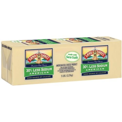 Land O Lakes Deli White American Cheese Loaf, 5 Pound - 2 per case.