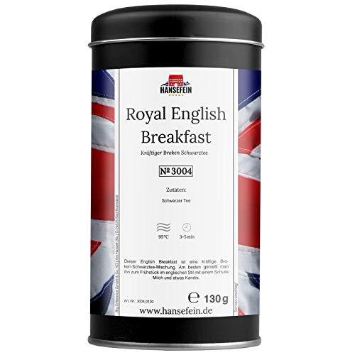 Hansefein Royal English Breakfast Schwarzer Tee Broken 130g in Aromadose